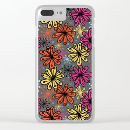 Weird and wonderful (Seedpods) Clear iPhone Case