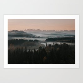 Good Morning! - Landscape and Nature Photography Art Print