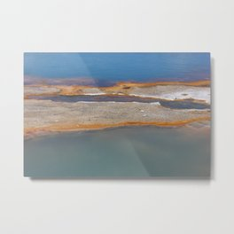 Yellowstone: Sulfur Pool 1 Metal Print