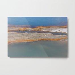 Yellowstone: Sulfur Pool 1 Metal Print