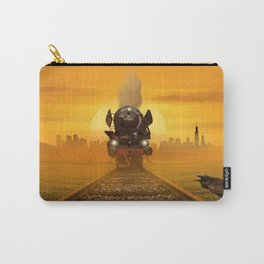 Steam Train in the evening light Carry-All Pouch