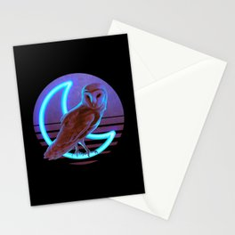Night Owl Stationery Cards