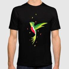 Hummingbird 2 Mens Fitted Tee Black MEDIUM