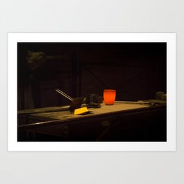 Bar of Gold Art Print