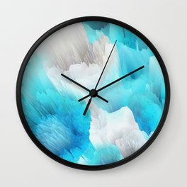 Cold World Wall Clock