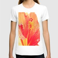 hibiscus T-shirts featuring Hibiscus by Lindzey42