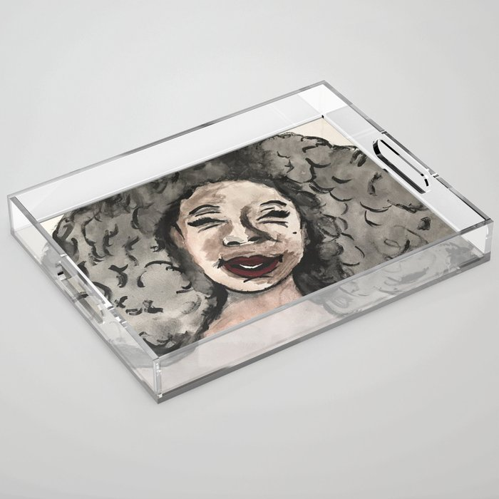 Smile Acrylic Tray
