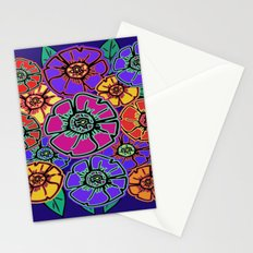 Abstract #462 - Flower Power #13 Stationery Cards
