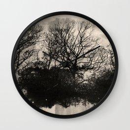Surreal Trees Wall Clock