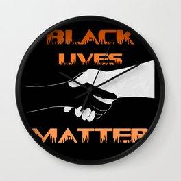 Together We Rise Shirt, Rise Up Shirt, Black Lives Matter Support Shirt, LGBTQ Support Shirt Wall Clock