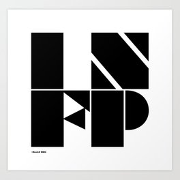 Type Type for INFP Art Print