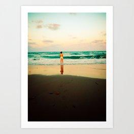 End of Summer Nostalgia IV Art Print