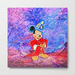 Sorcerer Mickey Metal Print