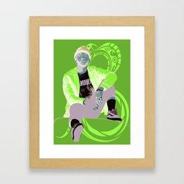 TY DOLLAR $IGN Framed Art Print