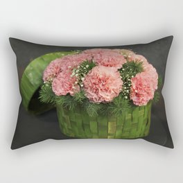 Box of Carnations Rectangular Pillow
