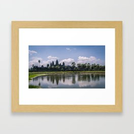 Angkor Wat, Cambodia Framed Art Print