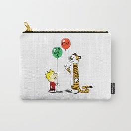 Calvin and Hobbes ballon Carry-All Pouch