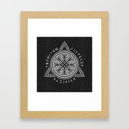 The helm of awe Framed Art Print