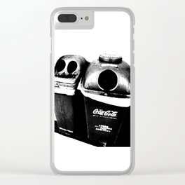Man and woman Clear iPhone Case