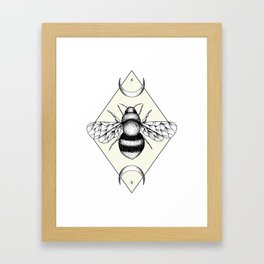 Bee Confident Framed Art Print