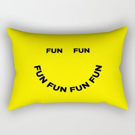 Fun Fun Fun Rectangular Pillow