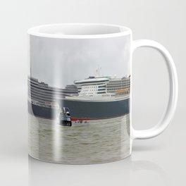 Cunard's Three Queens (Digital Art) Coffee Mug