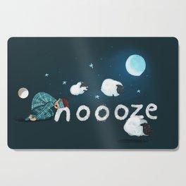 Snoooze Cutting Board