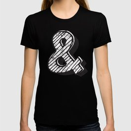 Ampersand sketch - typography T-shirt