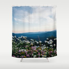 Flower Photography by Elijah Hail Shower Curtain