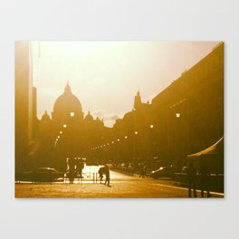 When in Rome Canvas Print