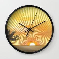 Marylin Sunset Wall Clock