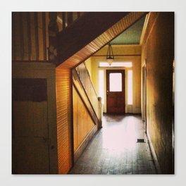 Sunny Hallway Canvas Print