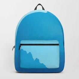 Grand Teton Mountains Jackson, Wyoming Blue Backpack