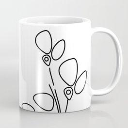 Abstract Flowers Coffee Mug