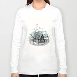 DEEP IN THE HEART OF THE FOREST Long Sleeve T-shirt