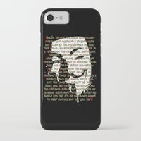 vendetta iPhone & iPod Cases featuring Vendetta 1.0 by Sberla