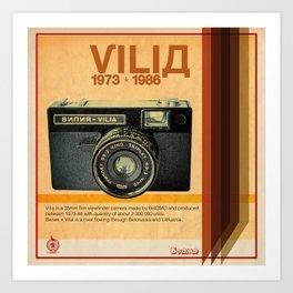 Vilia Art Print
