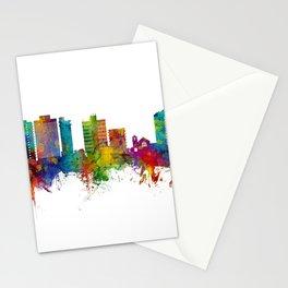 San Mateo California Skyline Stationery Cards