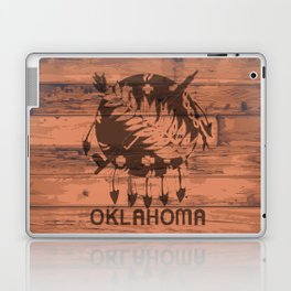 Oklahoma Flag Brand Laptop & iPad Skin