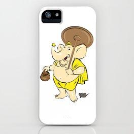 Hindu Elephant God - Ganesha iPhone Case