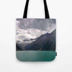 Schlegeis Lake, Austria   Panorama Tote Bag