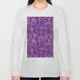 "Charles Rennie Mackintosh ""Roses and teardrops"" edited 7. Long Sleeve T-shirt"