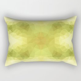 """Apple seeds"" triangles design Rectangular Pillow"