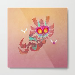 Majora's Mask - Skull Kid Metal Print