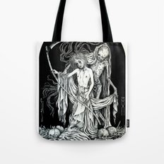 Death and the Maiden III Tote Bag
