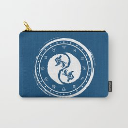 Aquarius Yin Yang Eleventh Zodiac Sign Carry-All Pouch
