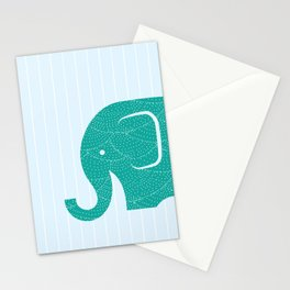 Fun at the Zoo: Elephant Stationery Cards