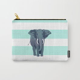 The Green Elephant Carry-All Pouch