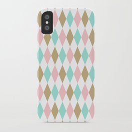 Harlequin Print in Candy Coated iPhone Case