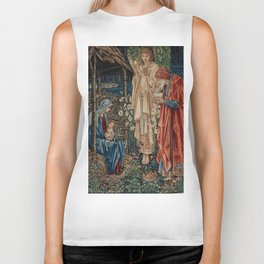 "Edward Burne-Jones ""The Adoration of the Magi"" Biker Tank"